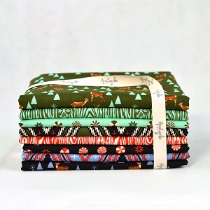 Freespirit Fabrics Holiday Homies by Tula Pink Fat Quarter Bundle of 8 Pieces