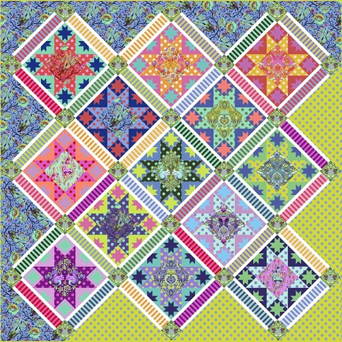 Centre Stage Quilt by Tula Pink