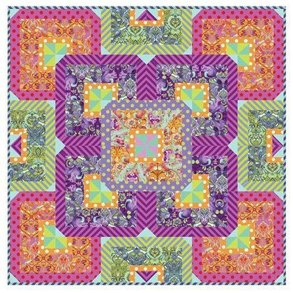 Tula Pink Fusion Quilt Pattern