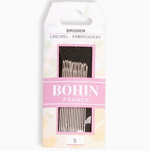 Bohin Embroidery Needles Size 5