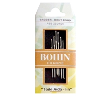 Bohin Tapestry Needle Assortment Sizes 22 / 24 / 26