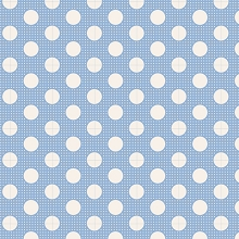 Tilda Basics - Medium Dots in Blue