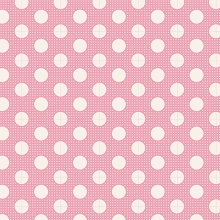 Tilda Basics - Medium Dots in Pink