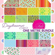 Freespirit Fabrics Tula Pink Daydreamer One Metre Bundle of 22 Pieces *** PRE-ORDER - ARRIVING DECEMBER 2021 ***