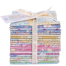 Tilda Happy Campers Fat Eighth Bundle of 20 fabrics