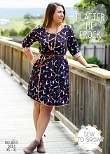 Sew to Grow Patterns - The Flatter Me Frock