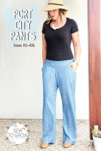 Sew to Grow Patterns - Port City Pants