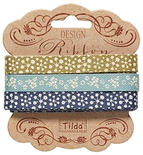 Tilda Ribbon Set - Pardon My Garden  3 x 2mt pack