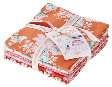 Tilda - Harvest - Fat Quarter Bundle of 5 fabrics in Ginger