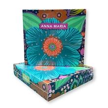Aurifil Anna Maria Horner Hindsight 4 Mini Thread Collection Boxed Set