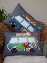 Claire Turpin Design Free Campin Cushion Pattern *** SIGN UP TO BE NOTIFIED NEW STOCK ARRIVING END OF JANUARY ***