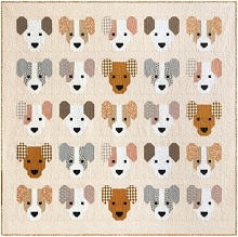 Elizabeth Hartman The Puppies Quilt Kit
