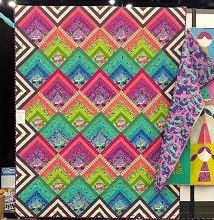 Freespirit Tula Pink Electric Slide Quilt Kit in HomeMade