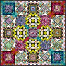 Anna Maria Horner Conservatory Chapter 3 Endless Summer Quilt Kit