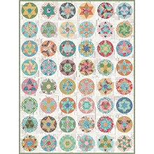 Sue Daley Round We Go Quilt Kit featuring Flea Market