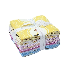 Riley Blake Designs Emma Fat Quarter Bundle of 15 Pieces