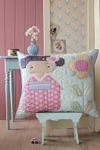 Tilda Happy Campers Kimono Girls Pillow Kit