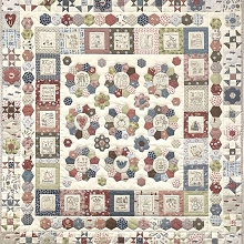 Heartstrings Quilt Kit by Natalie Bird