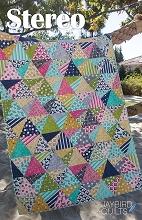 Jaybird Quilts Stereo Candy Quilt Pattern
