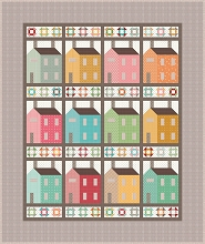 Riley Blake Designs Prim Village Quilt Kit in Gift Box