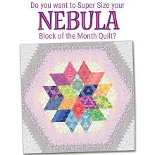 Jaybird Quilts Nebula King Size Upgrade Kit