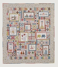 Homespun Block of the Month 2021 Letter To My Daughter Full Quilt Kit *** PRE-ORDER MORE ARRIVING MID JUNE 2021 ***