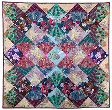 Anna Maria Horner Conservatory Chapter 3 One Mile Radiant Quilt Kit