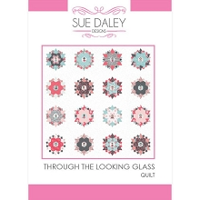 Through The Looking Glass Quilt Pattern, Papers and Template Pack by Sue Daley Designs