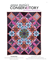 Anna Maria Horner Conservatory Chapter 2 Portraits Quilt PDF Pattern (DIGITAL DOWNLOAD)