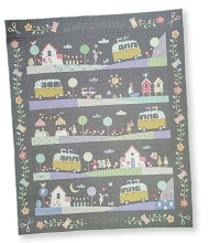 Tilda Happy Campers Quilters Holiday Homespun Block of the Month Full Quilt Kit