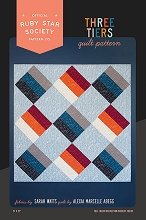 Ruby Star Society Three Tiers Quilt Pattern