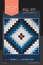 Ruby Star Society Bullseye Quilt Pattern