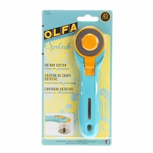 Olfa 45mm Splash Rotary Cutter in Aqua