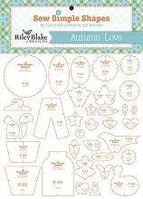 Riley Blake Designs - Sew Simple Shapes Autumn Love by Lori Holt