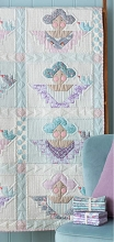 Tilda Old Rose Scrap Angels Quilt Kit in Teal / Lilac