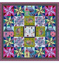 Anna Maria's Conservatory Chapter Four Sunday in the Country Quilt Kit