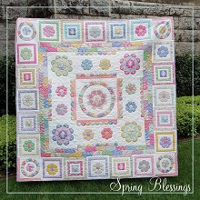 Tilda Happy Campers Spring Blessings Full Quilt Kit