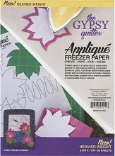 Gypsy Quilter Freezer Paper 8 1/2in x 11in Heavy Weight Pack of 50