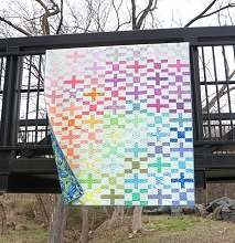 Big Charmer Quilt Kit in Tula Pink True Colors