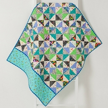 Tied with a Ribbon Hop Skip Jump Quilt Pattern