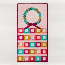 Tied With A Ribbon - Christmas Cheer Advent Calendar Pattern