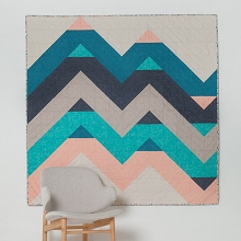 Tied with a Ribbon Level Edge Quilt Pattern
