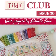 Tilda Club - Issue 30 Sophie's Garden Pouch