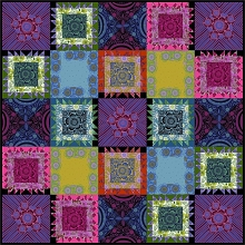 Anna Maria's Conservatory Chapter Four Triple Take Quilt Kit