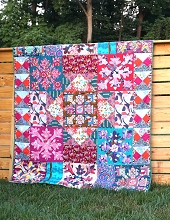 Anna Maria Horner Conservatory Chapter 3 Wild Quilt Kit