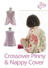 Betty Kingston - Crossover Pinny & Nappy Cover Pattern