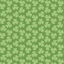 Riley Blake Designs - Holiday Clover Tone on Tone Green