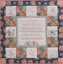Petals and Patches - Fairy Whispers Wall Quilt Pattern