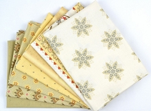 Riley Blake Designs - French Courtyard Half Metre Bundle 7 pieces in Yellow