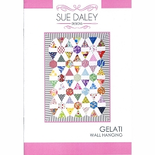 Sue Daley - Gelati Wall Hanging Pattern and Templates Pack